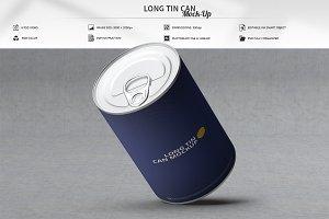 Long Tin Can Mock-Up