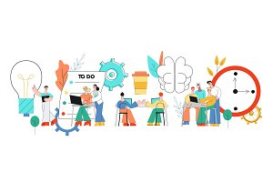 Coworking communication vector