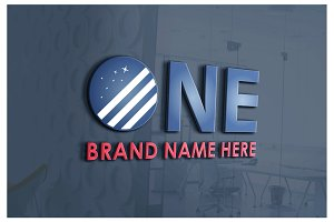 ONE COMPANY LOGO TEMPLATE