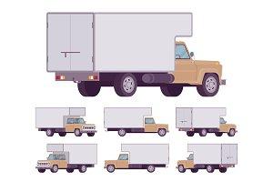 Beige truck set