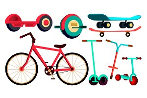 Wheeled Items Set Bicycle