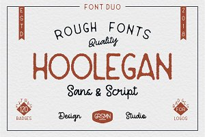 Hoolegan Font Duo