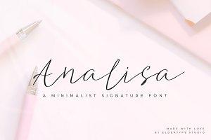 Analisa // Signature Font