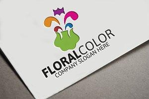 Floral Color Logo