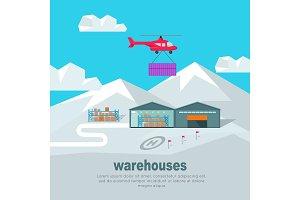 Helicopter Worldwide Warehouse