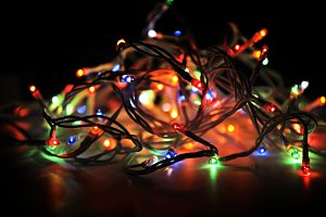 New Year's garland Electrical Power