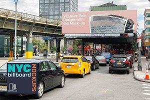 SALE! Billboard Mockup NYC