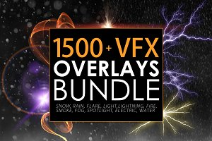 1500+ VFX Overlays Bundle