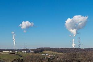Point Morgan power station fumes