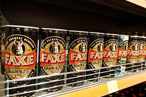 Faxe Brewery is a Danish brewery loc