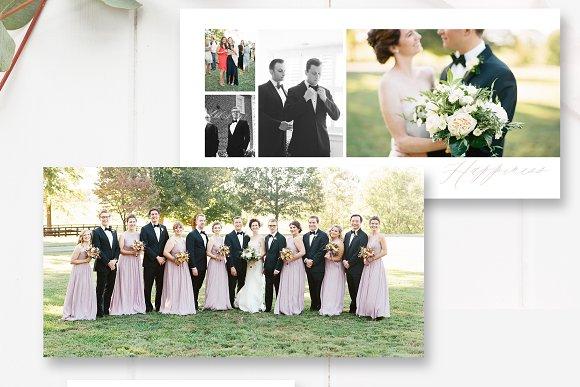 Wedding Album Template PSD