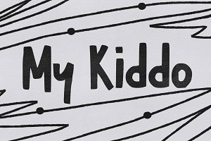 My Kiddo Font