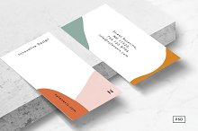 Isla Business Card Template by  in Business Cards