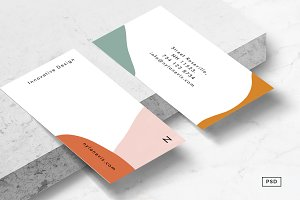 Isla Business Card Template