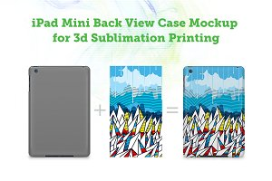 iPad Mini 3d Case Mockup