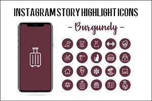 Instagram Story Highlight Icon