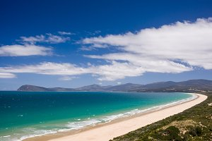 View from Bruny Island Lookout