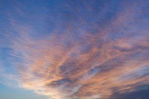 Soft Sunset Sky