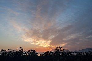 Soft Australian Sunrise