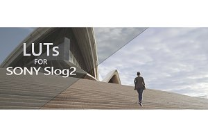 LUTs for Sony Slog2