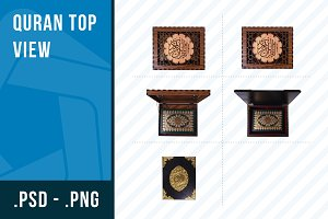 Quran top view