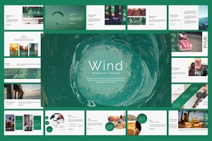 Wind Powerpoint Template