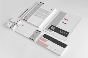 Corporate Identity Design Set - V09