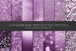 Valentine Foil and Glitter Textures