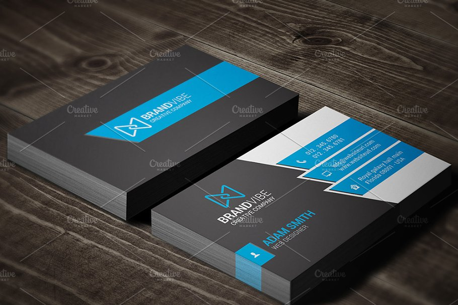 Modern business card template business card templates creative previous accmission Image collections