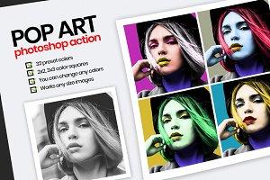 POP ART - PS Action