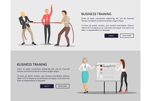 Business Training Web Posters