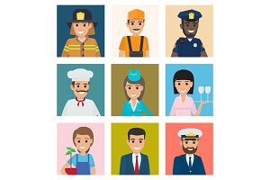 Workers from Different Industries