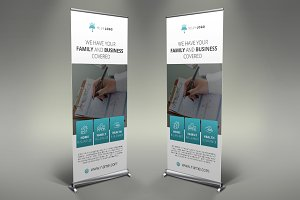 Insurance - Roll Up Banner