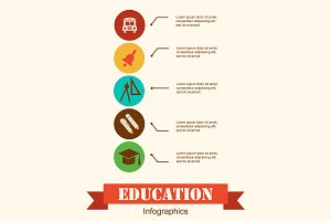 Education & school infographics