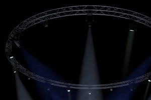 Circle Square Truss1000cm-StageLight
