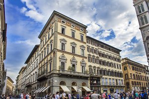 Streets of Florence. buildings