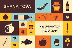 -50% Jewish New Year - set(1)