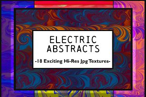Electric: Vivid Abstract Page Pack