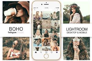 BOHO Instagram Blogger Preset