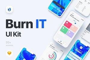 BURNIT  iOS UI Kit