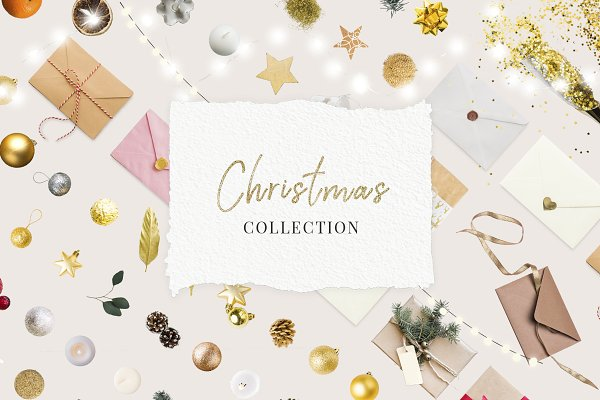 Graphic Objects: Digital Breath templates - Christmas Decoration Scene Creator