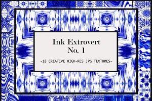 Extra-Fancy Indigo Ink Pattern Set