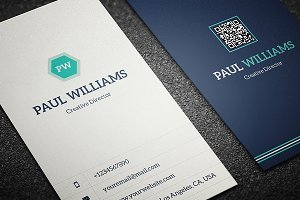 Minimal Corporate Business Card V2