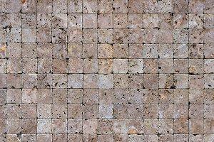 Travertine masonry tiles cladding