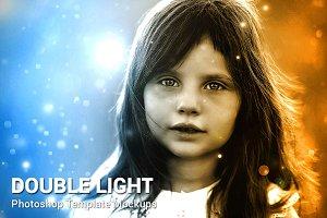 Double Light Photoshop Mock-ups