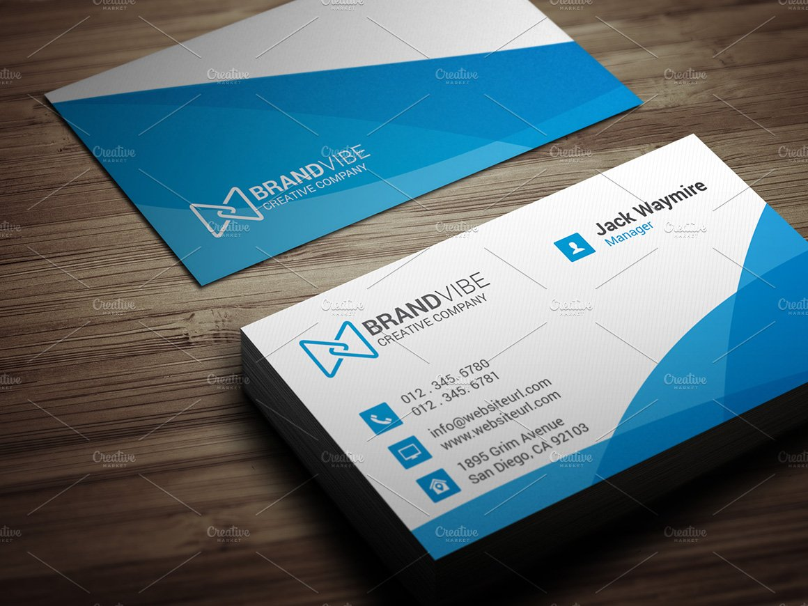 Professional Business Cards Templates Image collections ...