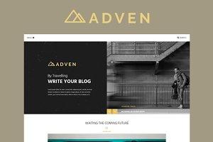ADVEN - A BLOG PSD TEMPLATE