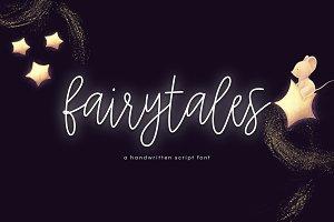 Fairytales - Handwritten Script Font