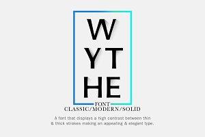 Wythe | Sans-Serif Font