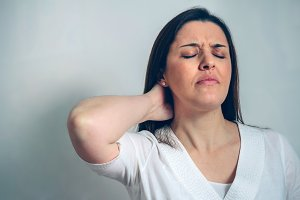 Pregnant with neck pain